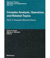 Complex Analysis, Operators and Related Topics