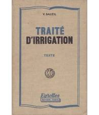 Traité d'irrigation